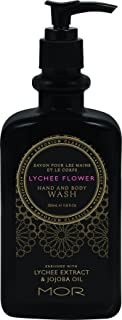 Mor Hand and Body Wash, Lychee Flower, 11.8 Fluid Ounce