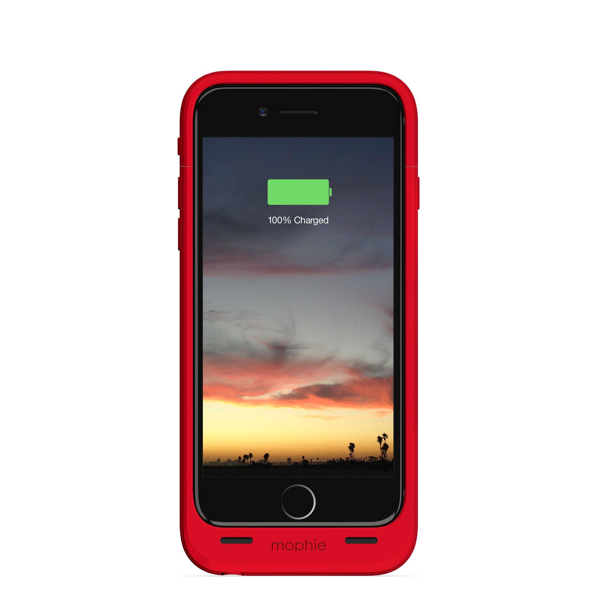 Mophie Juice Pack Plus Recargable batería Externa de Funda (2,750 mAh) para Apple iPhone 6 Rojo: Amazon.es: Electrónica