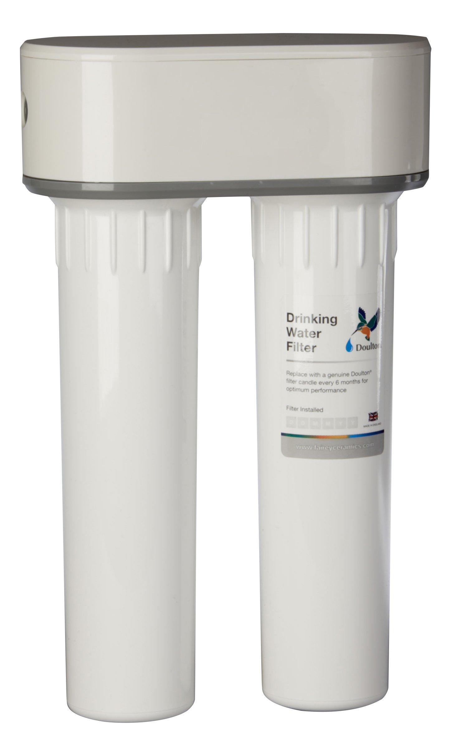 Doulton W9380020 Filtro Doble Purificador de Agua de Plástico ...