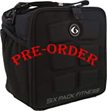6 Pack Fitness Cube Americas #1 Choice in Meal Prep Management 3 - Meal Stealth (Black/Black)