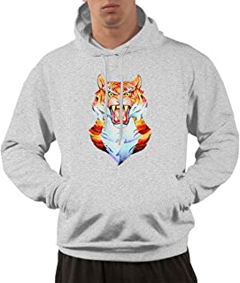 DGGE Tiger Roar Men's Hoodies Sweatshirts Clothing and Sports