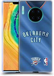 Official NBA Road Jersey 2018/19 Oklahoma City Thunder Soft Gel Case Compatible for Huawei Mate 30 Pro / 5G