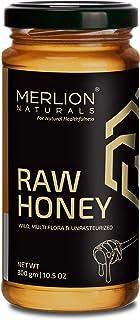 Sponsored Ad - Merlion Naturals Raw Honey, Wild / Forest, Multiflora, and Unpasteurized (10.5 OZ)