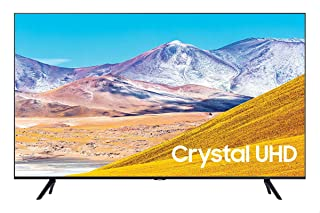 تلفزيون سامسونج 55 بوصة 4 كيه الترا اتش دي سمارت ال اي دي مع جهاز استقبال مدمج، اسود - UA55TU8000UXEG
