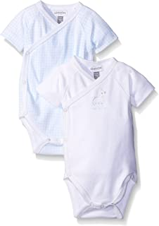ABSORBA Baby-Boys Two Pack Short Sleeve Body Suit Set