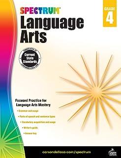 Spectrum   Language Arts Workbook   Grade 4, Printable