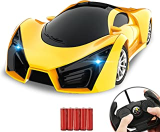 Kulariworld Remote Control Car 1/16 RC Super Cars Toys for Kids High Speed Vehicel Racing Hobby with Led Lights Best Boys ...
