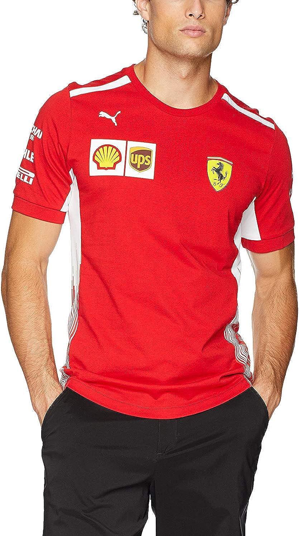 PUMA Men's Scuderia Ferrari half Selling and selling Tee Team
