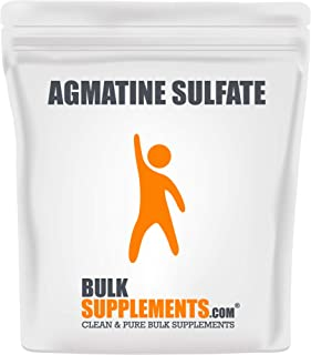 BulkSupplements Agmatine Sulfate Powder (250 Grams) 333 Servings