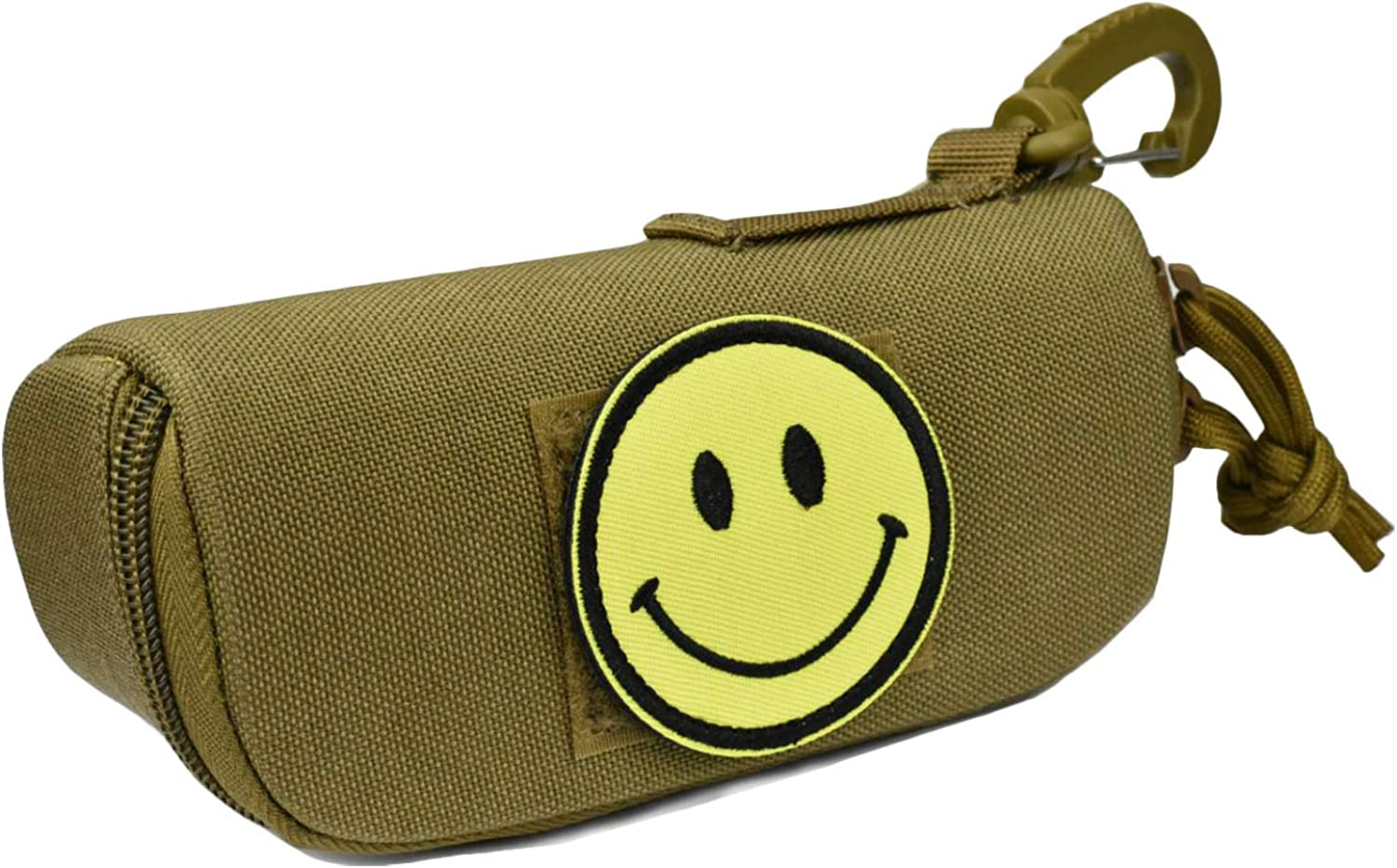 Sunglasses Hard Case Tactical Molle Eyeglasses sturdy Case Portable Hard Glasses Carrying Case