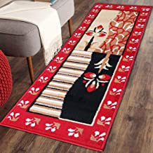 Maa Creation Traditional Design Bedside Runner/Rug/Passage Rug, 50 X 150 cm, Vascose, Soft, Best for Bedroom | Living Room | Passage | Guest Room (Design_1)