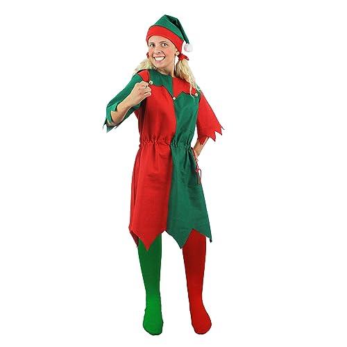 Festive Elf Santa Little Helpers Fancy Dress Accessory Xmas Party Hat Giant New