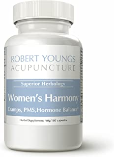 180 Caps Natural Remedies for Menstrual Cramps Relief, Hormonal Balancing, PMS Pain, Hormonal Acne, PMS Relief, Bloating & Menstrual Pain Relief, PMS Pills and Hormone Balance & Period Pain