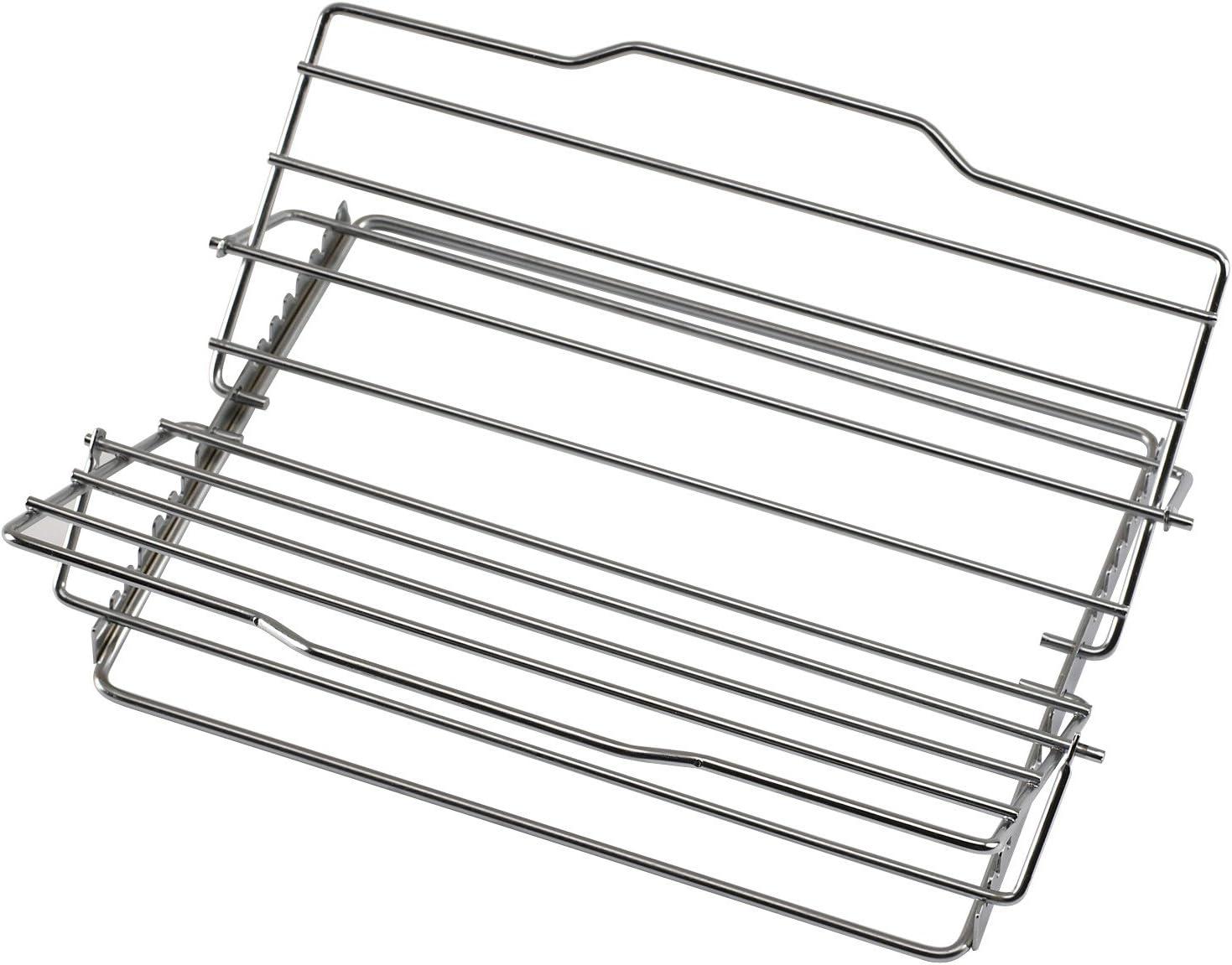 BRADSHAW INTERNATIONAL 23803 Chrome Adjustable Roast Rack