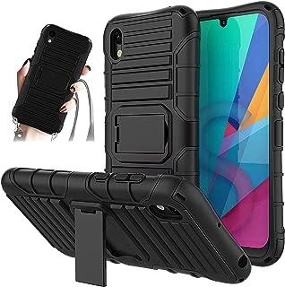 Carcasa Transparente TPU Suave Silicona Case para P30 Pro con Correa Colgante, Multicolor Cordon para Llevar en el Cuello Verco Funda con Cuerda para Huawei P30 Pro