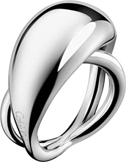 Calvin Klein Women's Stainless Steel Fashion Ring - 12 - KJ3XMR000106