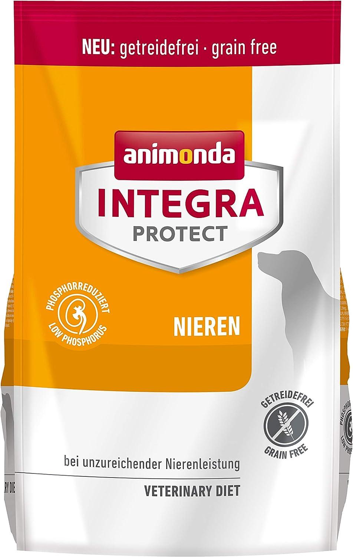 Comida dietética para perros animonda Integra Protect, pienso para perros con insuficiencia renal crónica, 4 kg