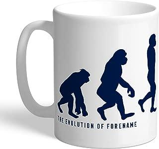 Tottenham Hotspur Official Personalized FC Evolution Mug - Free Personalisation