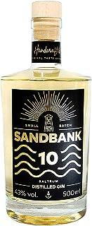 Sandbank 10 Distilled Gin - Der exklusive Gin aus dem Norden in Handarbeit aus 10 genussvollen Botanicals hergestellt 1 x 0.5 l
