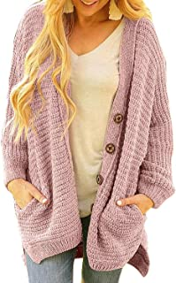 Dearlove Women's Chunky Button Up Oversized Cardigan Sweater Coats with Pocket
