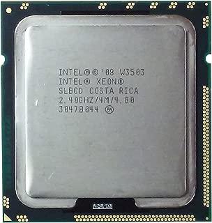 Refurbished Intel Xeon W3503 2.4GHz 2400MHz LGA 1366/Socket B SLBGD