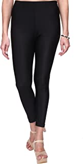 TRASA Shining Lycra Women's/Girls Ankle Length Shiny Leggings - Available Sizes - M,L, XL, 2XL,3XL,4XL (Brand Outlet)