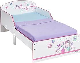 ARDITEX Cesta plegable para la ropa para dormitorio infantil con 2 camas
