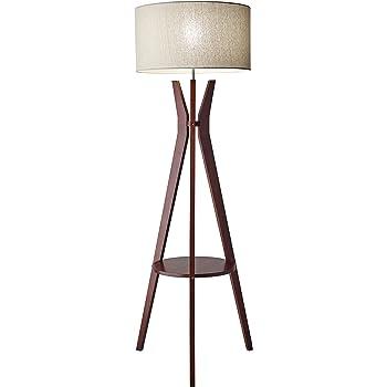 "Adesso 3471-15 Bedford 59.5"" Floor Lamp, Smart Outlet Compatible"