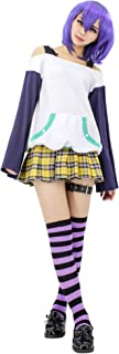 Adult US Size Anime Mizore Shirayuki Shirt Skirt Cosplay Costume