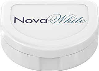 NovaWhite Retainer Holder - Hygienic, Anti-Bacterial, Durable, Compact, Secure Case for Maximum Storage & Protection – Invisalign Container, Invisalign Case, Invisalign Retainer Case, Dental Cases