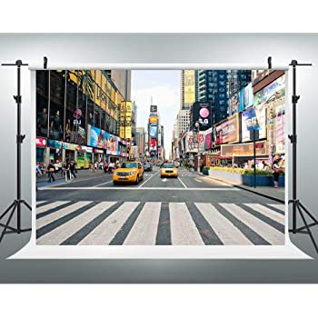 7/×5ft Background Studio Props City Buildings at Dusk Photo Background Wall Background Backdrop Vinyl Party Photography Background Vinyl Photo Studio Background for Party Photo Background Wall Wa