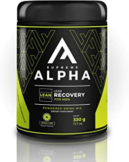 Supreme Alpha LEAN, Post Workout Recovery Supplement for Men, Fat Burner, Muscle Growth, Weight Loss, BCAAs, Zero Sugar, Keto Friendly, Enhances Performance, Improves Metabolism, 15 Large Servings