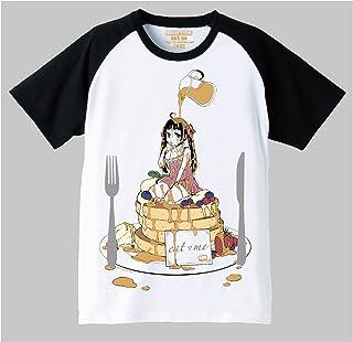思春期マーブルTシャツ「eat me」狐古あんこ