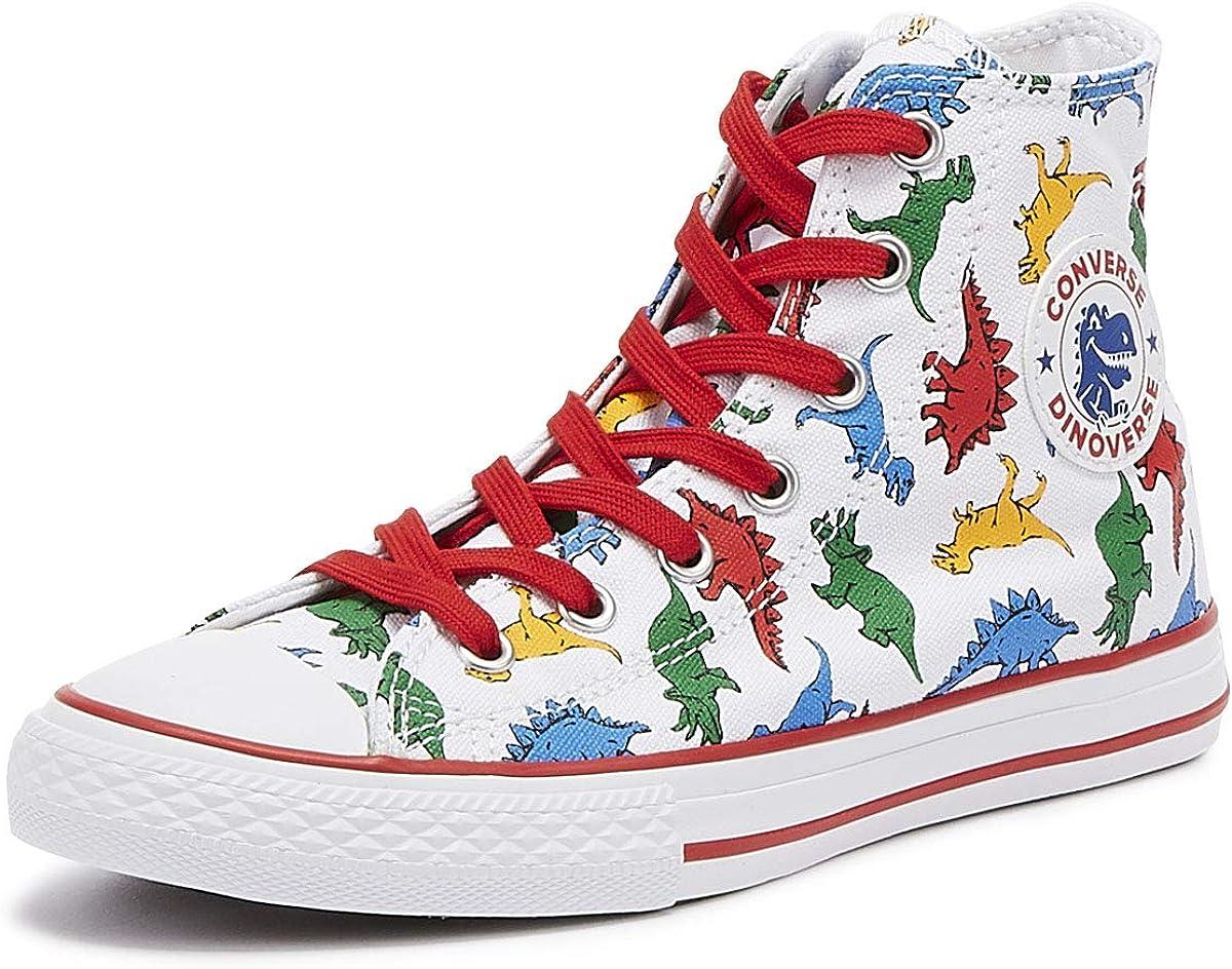 Converse Unisex-Child Kids' Chuck Taylor All Star Dinoverse High Top Sneaker
