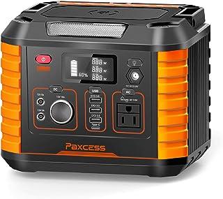 Generador portátil para camping, 330 W/78000 mAh, fuente de alimentación de batería CPAP, generador solar con 110 V CA, 12...
