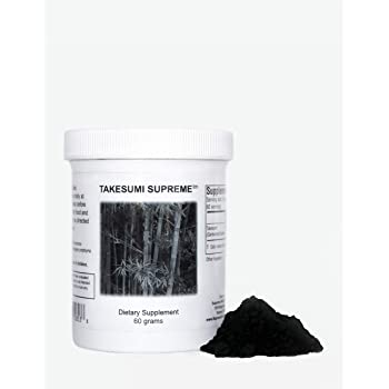 Supreme Nutrition Takesumi Supreme, 60 Grams - Activated Bamboo Charcoal