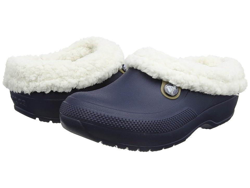 Crocs Classic Blitzen III Clog (Navy/Oatmeal) Clog/Mule Shoes