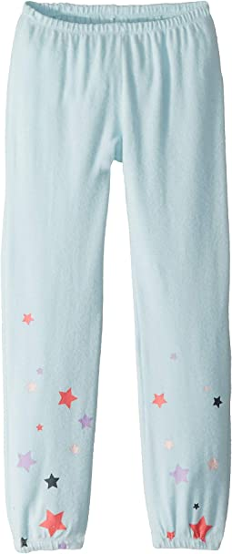 Super Soft Love Knit Cozy Sweatpants w/ Delicate Star Print (Big Kids)