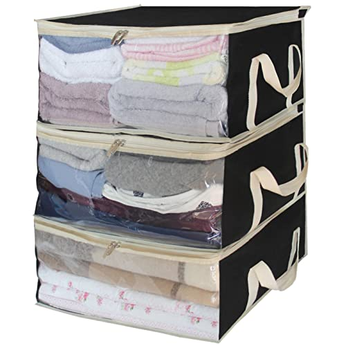 Superbe Foldable Storage Bags, Clothes Organizer Storage Containers For Clothing,  Sweater, Blanket, Comforter