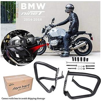 elegantstunning Moto Accessoires Protection Moteur Barre de Protection pour BMW R Nine T 2014-2018