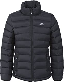 Trespass Letty Padded Womens Down Jacket Short Black Ladies Warm Winter Coat
