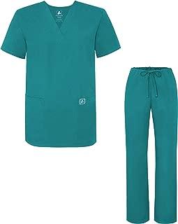Adar Uniforme Médico Unisex con Casaca y Pantalones