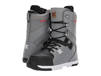DC Mutiny Lace Snowboard Boot (Grey) Men