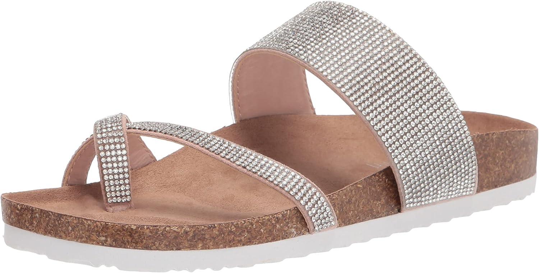 Madden Girl Women's Base-r Slide Sandal