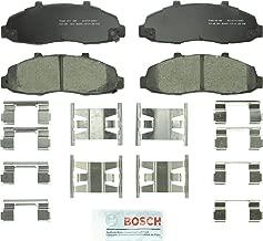 Bosch BC679 QuietCast Premium Ceramic Disc Brake Pad Set For Ford: 1997-2003 F-150, 2004 F-150 Heritage; Lincoln: 2002 Blackwood; Front