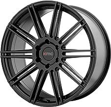 4 KMC KM707 24x9.5 6x5.5 30mm Satin Black Wheels Rims 24