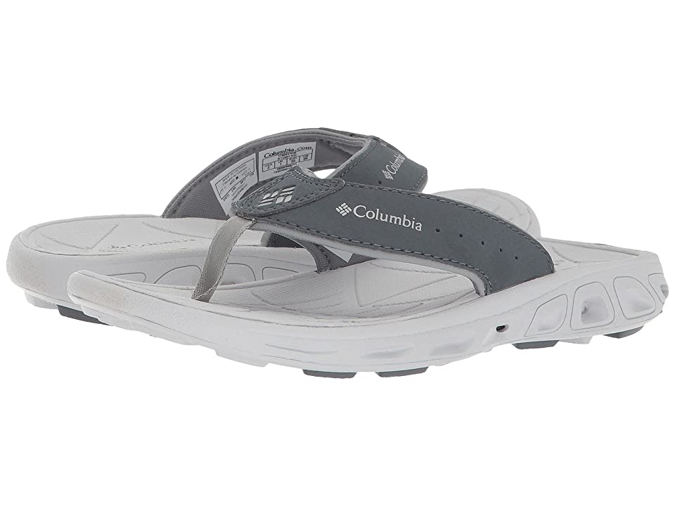 Columbia Kids Techsun Flip (Little Kid/Big Kid) (Monument/Silver Grey) Boys Shoes