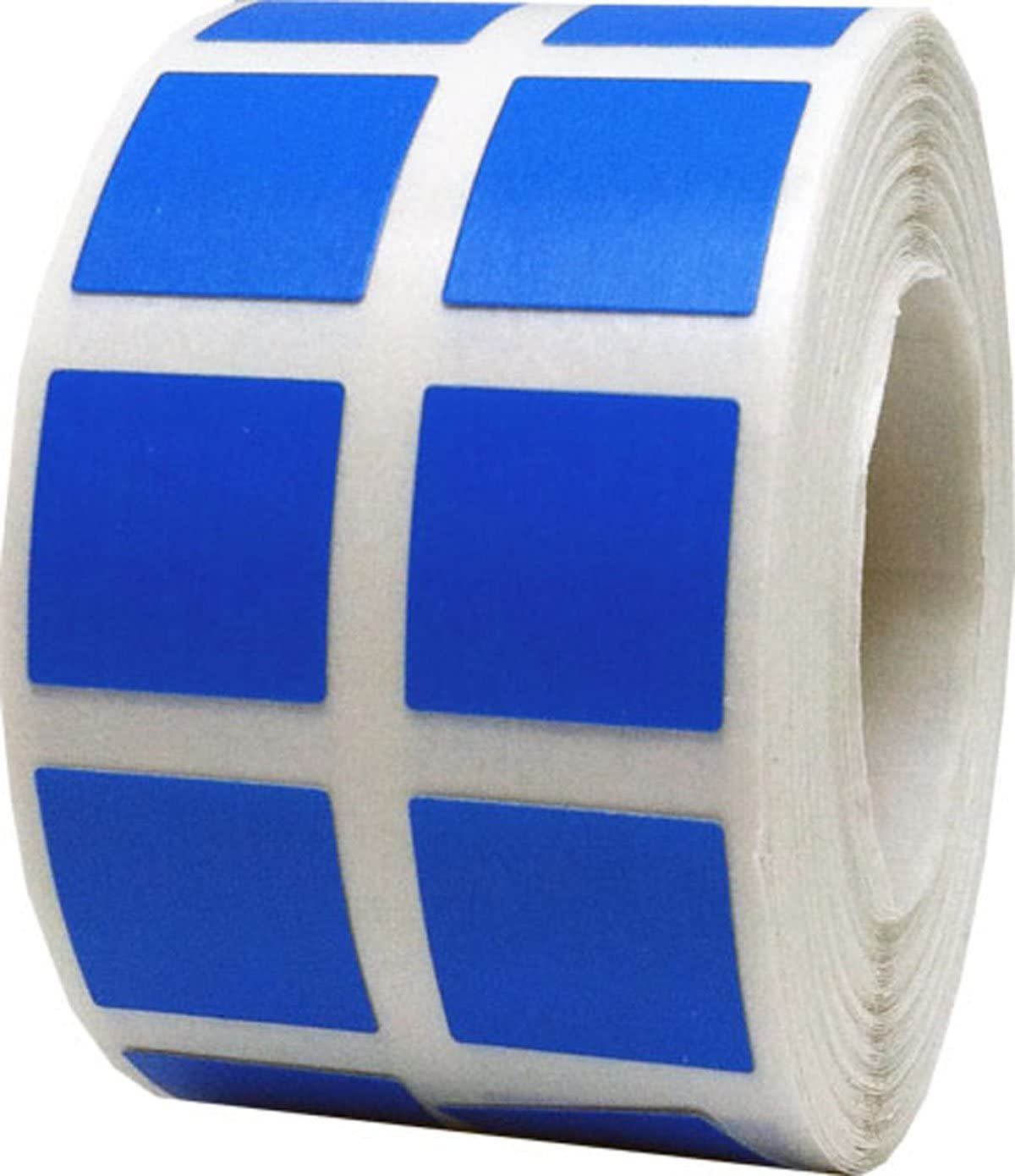 Blue Square Color Coding Labels Organizing 0.50 Ranking Max 49% OFF TOP4 for Inventory In