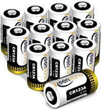 [UL Certified] CR123A 3V Lithium Battery, Keenstone 12pack 1600mAh Primary Lithium Batteries CR123A Batteries for Flashlight Camcorder Toys Torch (Not Compatible with Arlo Cameras)