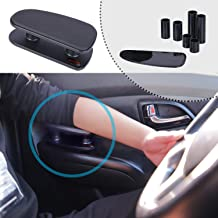 ALLUCK Breathable Soft Memory Foam Car Central and Side Adjustable Height Comfort Armrest Rest Pads (Black)